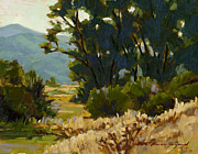 Cottonwood Paintings - Touch of Fall by Chula Beauregard