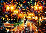 Afremov Art - Touch Of Rain by Leonid Afremov