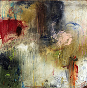 Contemporary Abstract Mixed Media Prints - Tough Act To Follow Print by Michel  Keck