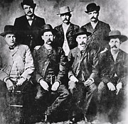 The Old West Framed Prints - TOUGH MEN of the OLD WEST Framed Print by Daniel Hagerman