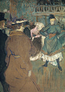 Dance Of Life Framed Prints - Toulouse-lautrec, 1892 Framed Print by Granger