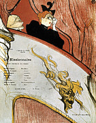 Opera Glasses Prints - Toulouse-lautrec, 1893 Print by Granger