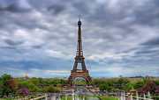 Paris Photos - Tour Eiffel - Eiffel Tower by Photo by Jim Boud