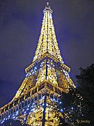 Tour Eiffel Photo Posters - Tour Eiffel 2007 Poster by Joanne Smoley