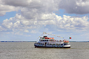 Ferry Photos - Touring Boat by Carlos Caetano