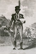 Slavery Photo Prints - Toussaint Louverture 1843-1803 Leader Print by Everett