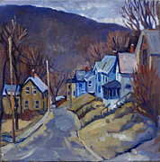 Thor Painting Originals - Toward Vermont  by Thor Wickstrom