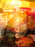 Meditative Mixed Media - Towards the Light by Lutz Baar
