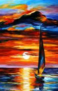 Abstract Paintings - Towards The Sun by Leonid Afremov