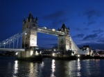 Bridges Digital Art Prints - Tower Bridge Print by Amanda Barcon
