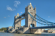 London Skyline Art - Tower Bridge in London by Chris Day