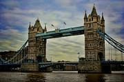 Tower Bridge London Print by Heather Applegate