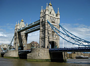 London Olympics 2012 Framed Prints - Tower Bridge London Framed Print by Heidi Hermes