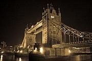 Bridge Photo Metal Prints - Tower Bridge of London Metal Print by Joshua Francia
