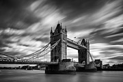 Famous Bridge Metal Prints - Tower Bridge, River Thames, London, England, Uk Metal Print by Jason Friend Photography Ltd