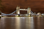 Cathedrals Prints - Tower Bridge Print by Sebastian Wasek