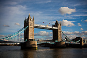 Sky Framed Prints - Tower Bridge Framed Print by Steven Gray