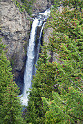 Waterfall Photos - Tower Falls I by Scott Hansen