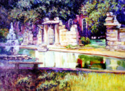 Stan Esson Originals - Tower Grove Park by Stan Esson