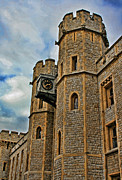 Treasury Framed Prints - Tower of London Framed Print by Heather Applegate