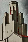 Tower Of Memories Print by Kevin Munro