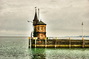 The Haunted House Photo Prints - Tower on Lake Print by Syed Aqueel