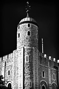 Tower Of London Photos - Tower Windows by John Rizzuto