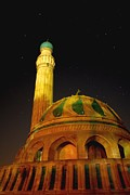 Baghdad Originals - Towering Mosque in the Night by Richard Frost