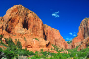Jay Mudaliar - Towering rocks at Zion NP