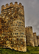 Autonomous Prints - Towers of Avila - Spain Print by Juergen Weiss