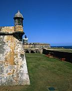 El Morro Posters - Towers of El Morro Fort Poster by George Oze
