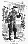 18th Century Prints - TOWN CRIER, 18th CENTURY Print by Granger