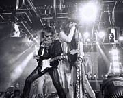 Steven Tyler Aerosmith Prints - Toxic Twins Print by Traci Cottingham