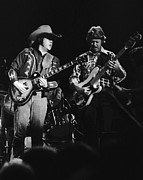 Toy Guitars Prints - Toy and Tommy at Winterland 1975 Print by Ben Upham