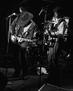 Toy Guitars Prints - Toy and Tommy at Winterland 1976 Print by Ben Upham