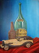 Rosanna Hardin - Toy Car And Bottles