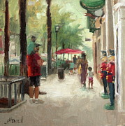 Toy Store Painting Prints - Toy Store Print by Jacki Newell