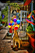 Entrance Shop Front Prints - Toy StoreFront Print by Trudy Wilkerson