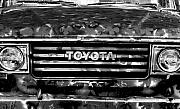 Headlights Prints - Toyota Truck Print by Lyle  Huisken