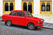 Street Machine Prints - Trabant Ostalgie Print by Christine Till