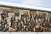 Dresden Photos - Traces of socialist idealism in Dresden by Christine Till