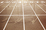 Digital-photography Photo Prints - Track and Field Print by Steven  Michael