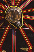 Spokes Metal Prints - Traction Metal Print by Meirion Matthias