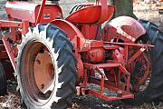 Machinery Photos - Tractor by Peter  McIntosh