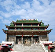China Art - Traditional Chinese Folk Religion Temple by Yali Shi