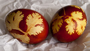 Serbian Prints - Traditional easter eggs Print by Blink Images