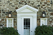 Field Stone Framed Prints - Traditional Field Stone House Framed Print by John Greim