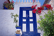 Islands Art - Traditional house in Hydra island by George Atsametakis