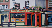 Dublin Painting Originals - Traditional Irish Pub in Dublin by Brian Junior Lambert