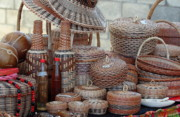 Indigenous Culture Photos - Traditional Kalinago Basket Craft from Dominica by Tropical Ties Dominica